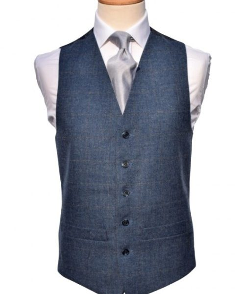 Tweed blue/grey