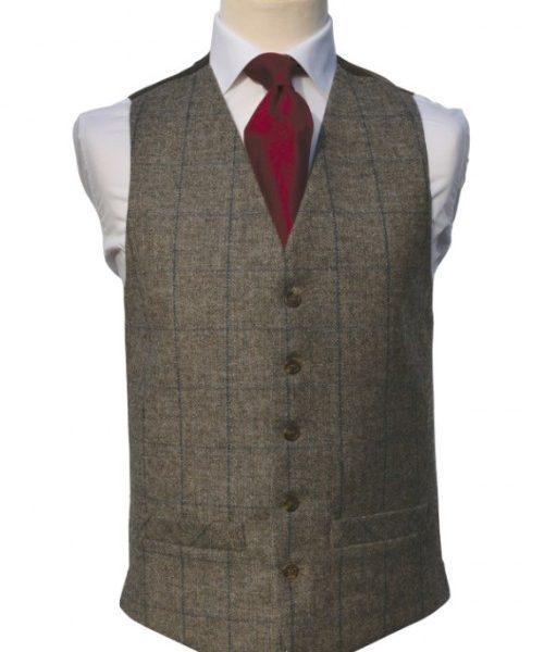 Tweed brown/royal