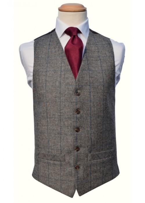 Tweed grey/royal